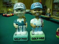 Golf Pros Set Bobble Bobbing Head Nodder