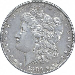 Early - 1883 Morgan Silver Dollar - 90% US Coin *286