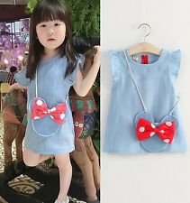 Girl Dress Jeans design Free Mickey Ornament