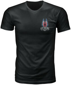 Fly Racing Mens Power Ballad Tee (2021) Shirt T-Shirt Black XL