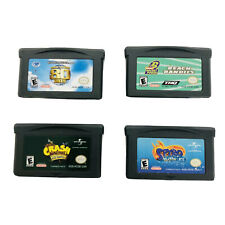 Nintendo Gameboy Advance Game Lot -Crash Bandicoot, Spyro,80 Days, Rocket Power