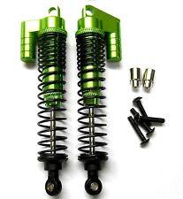S106004G 1/10 Escala Buggy RC Aleación Llenos De Aceite Amortiguador Apagador 2 Verde 90mm