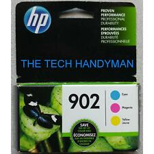 3-PACK HP GENUINE 902 Color Ink (RETAIL BOX) for the OFFICEJET PRO 6975 6978