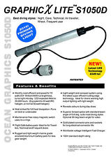 Ocean Graphics Professional LED Dive torch  Australian Made Quality Guaranteed
