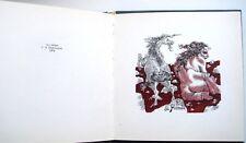 ex-libris exlibris book Mikhail Verkholantsev numbered hand signed