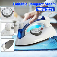 Mini Folding Electric Steam Iron Handheld Compact Clothes Steamer Garment