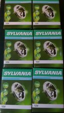 SYLVANIA 6 Large light bulbs. Halogen