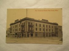 Moorhead Minnesota The Comstock Hotel MN Postcard