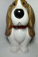 "Pioneer Woman Dog Cookie Jar 11"" Basset Hound Charlie nice preowned"