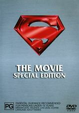 SUPERMAN - The Movie: SPECIAL EDITION 2009 (2 sided disc) LIKE NEW  DVD Region 4