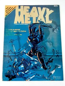Heavy Metal Illustrated Fantasy Magazine Vol #1 1977 Misprint Rare