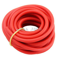 6x10mm RED Natural Latex Rubber Tube 10M Tubing Band Elastic Fitness Bungee