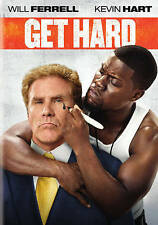 """Get Hard"" Comedy Film starring Will Ferrell and Kevin Hart on DVD"