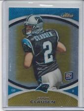 JIMMY CLAUSEN 2010 TOPPS FINEST GOLD REFRACTOR RC #D /50