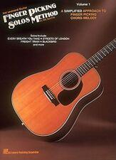 Hal Leonard Guitar Finger Picking Solos Method Volume 1 - Fingerpicking Book