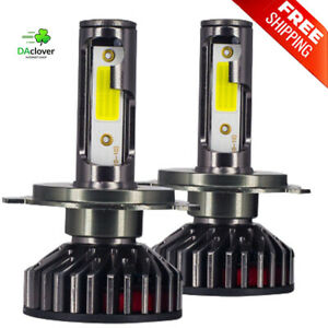 Car Headlight Lights 80W 14000LM for H4 H7 H1 LED H8-9 H11 4300/5000/6500/8000K