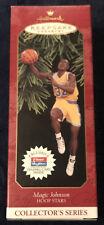 1997 Hallmark Magic Johnson Hoop Stars Collector's Series Ornament - New