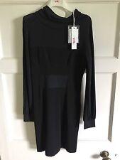 Versace Vfj collection robe de cocktail Noir-Bnwt