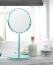 Duckegg Blue Vanity Mirror on Stand Dressing Table Bathroom Mirror NEW