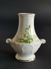 Small Vase Lily Of The Valley Royal Grafton Fine China Jacobean England 3 Inches