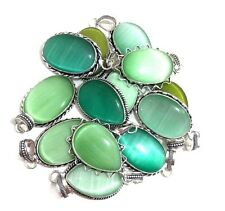 Christmas Sale !! 20 PCs. Calcite 925 Sterling Silver Plated Necklace Pendants