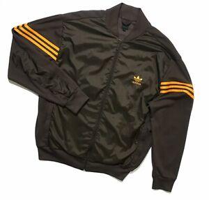 Men`s Vintage adidas originals sports jacket full zip Size XL