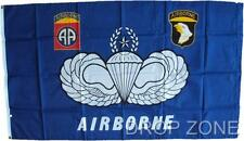 "US Military Army Airborne Flag, 26"" x 59"""