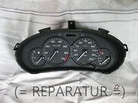Reparatur von Peugeot 206 Tacho / Kombiinstrument & andere Modelle