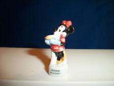 Minnie Mouse Cook Baker Baking Mickey & Gang Mini Figure Porcelain Feves Disney