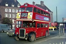 London Transport RTL1438 Bromley by Bow Nov67 Bus Photo