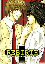 Death Note doujinshi Light x L Rebirth Nagisaku Kiyoi