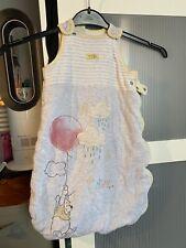 Baby Disney Winnie Pooh Sleeping Bag Sleepsuit 0-6 Months 2.5 Tog