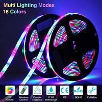 1m-20m 3528 set  RGB LED Stripe Streifen Warmweiß Kaltweiß Leiste Lichterkette