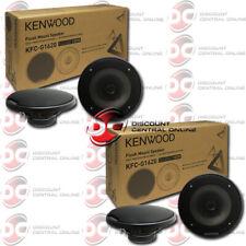 4 x  KENWOOD KFC-G1620 6.5 INCH 2-WAY CAR AUDIO COAXIAL SPEAKERS 6-1/2