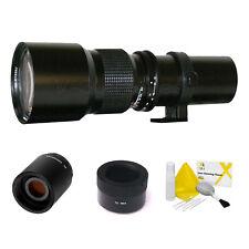 500mm/1000mm Telephoto Lens Sony NEX-VG10 NEX-VG20 NEX-VG30