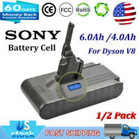 21.6V 6.0Ah /4.0Ah Li-Ion Battery For Dyson V8 Absolute Handheld Vacuum Cleaner