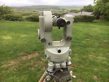 Cooke V22 Vickers Instruments Theodolite In Case With Tripod V.220137