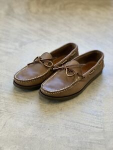Oak Street Bootmakers Natural Camp Moc NEW IN BOX Size 7 Horween Chromexcel