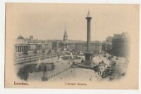London Trafalgar Square Vintage Postcard 466a