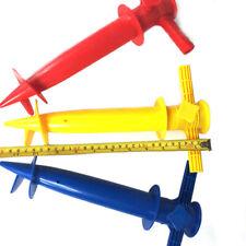Sun Beach Umbrella Anchor Stand Sand Auger Screw Heavy Duty Plastic Holder Patio
