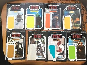 Vintage Star Wars Card Backs