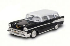 1957 Chevrolet Nomad, Black - Road Signature 94203, 1/43 Scale Diecast Model Car