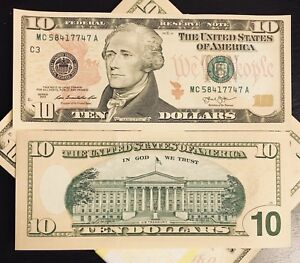 "USA Banknotes $10 Dollars 2013 C-3 ""Philadelphia "" UNC. CONDITION (#1140)"
