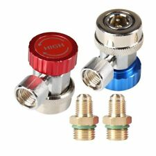 Hvac Tools A/C R134A Quick Connector Adapter Coupler Manifold Gauge Low/High