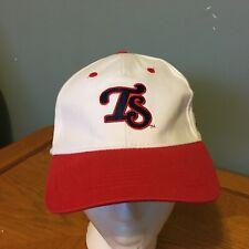 Tennessee Smokies Hat Cap SGA MILB CUBS Strapback VGUC White Red