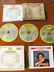 MOZART Le nozze di  3 CD Deutsche Gramm. Kanawa/Levine VEDI CD CLASSICA