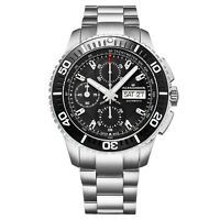 Alexander Men's Valjoux 7750 Swiss Made Automatic Chronograph Stainless Watch