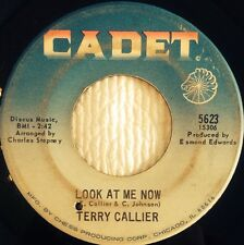 RARE Terry Callier CADET 45 Look At Me Now / You Goin' Miss Your Candy Man VG