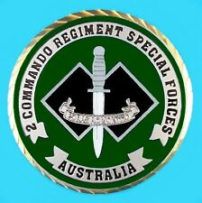 AUSTRALIAN 2nd COMMANDO REGIMENT SPECIAL FORCES COUNTER TERRORISM COIN   -01