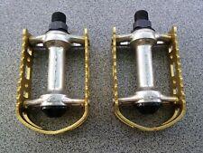 "NOS Vintage 80s BMX T.T.K. TTK 9/16"" Pedals Old School GT Skyway Freestyle"